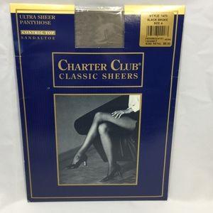 Charter Club Classic Sheers Ultra Sheer Pantyhose